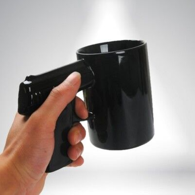 - Gun Mug - Silah Kupa Bardak