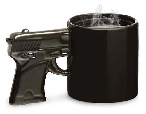 Gun Mug - Silah Kupa Bardak