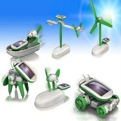 - Güneş Enerjili Robot Seti
