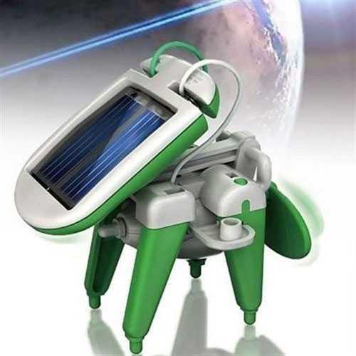 Güneş Enerjili Robot Seti