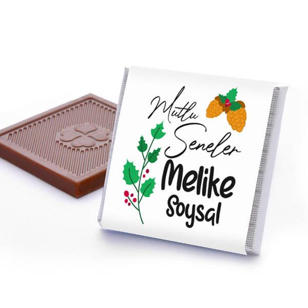 Güzel Bir Yıl Olsun İsimli Yılbaşı Çikolatası