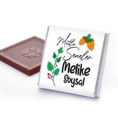 Güzel Bir Yıl Olsun İsimli Yılbaşı Çikolatası - Thumbnail