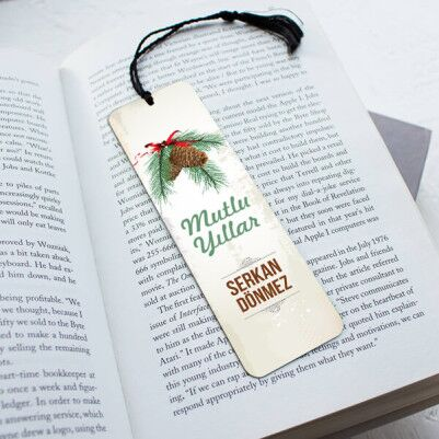 - Güzel Bir Yıl Olsun Kitap Okuma Ayracı