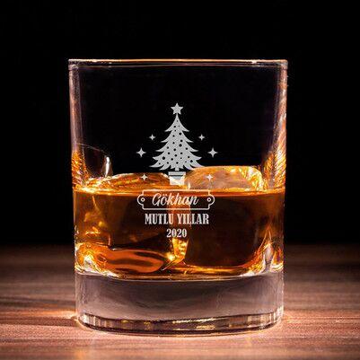 - Güzel Bir Yıl Olsun Viski Bardağı