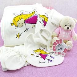 Güzel Kızım Bebek Hediye Sepeti - Thumbnail