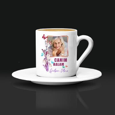 - Hala Sevgisi Fotoğraflı Kahve Fincanı