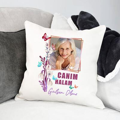 - Hala Sevgisi Fotoğraflı Yastık