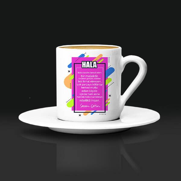 Halama Hediyem İsimli Kahve Fincanı