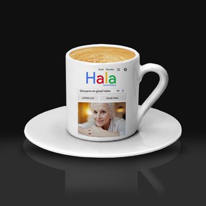 Halaya Hediye Arama Motoru Kahve Fincanı - Thumbnail