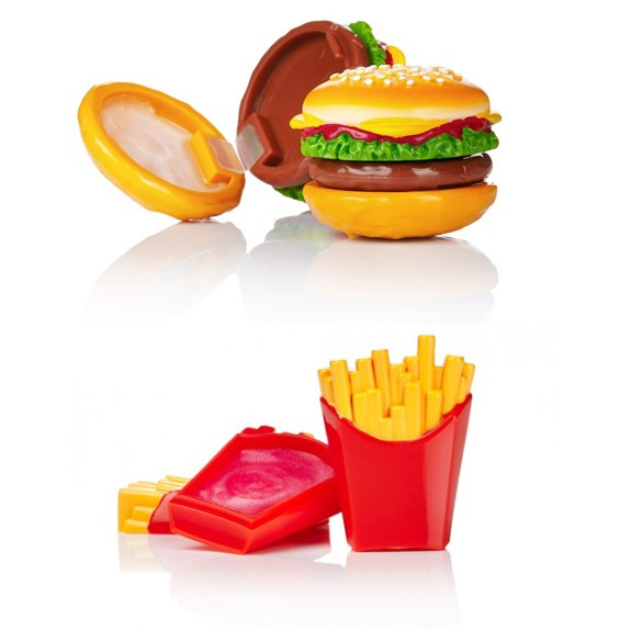 Hamburger Menü Dudak Kremi Seti