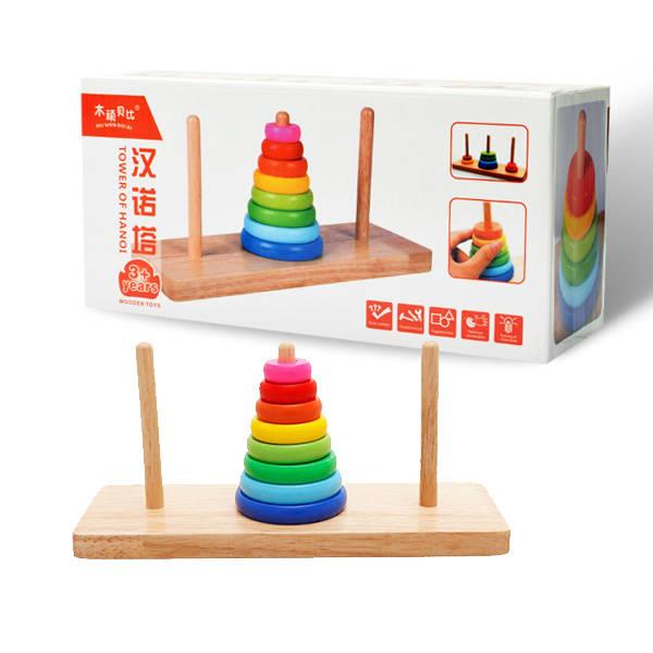 Hanoi Kulesi 3 Yaş Zeka Geliştirici Oyuncak