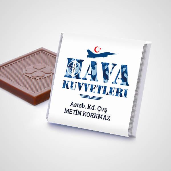 Hava Kuvvetlerine Özel Çikolata Kutusu