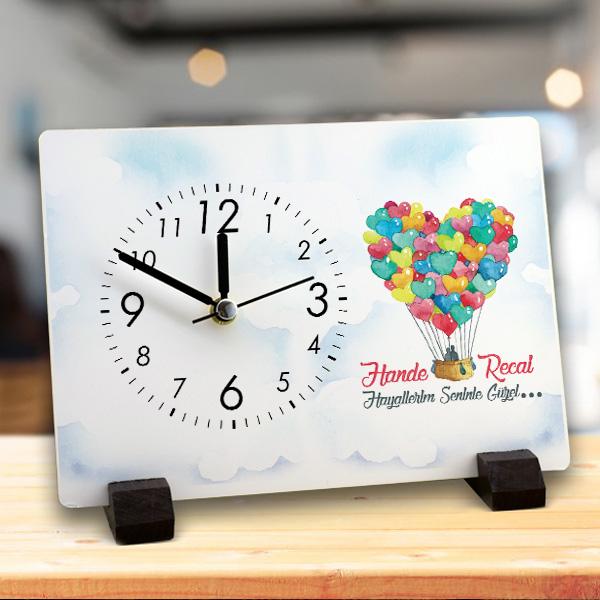 Hayallerim Seninle Güzel Masa Saati