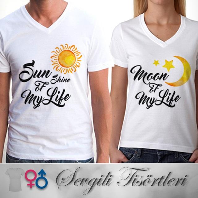 Hayat Işığımsın Sevgili Tişörtleri