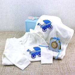 Hayırlı Evlat Olsun Bebek Hediye Sepeti - Thumbnail