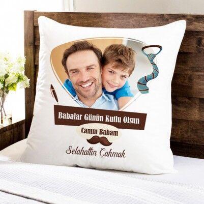 - Hediyelik Babalar Günü Yastığı