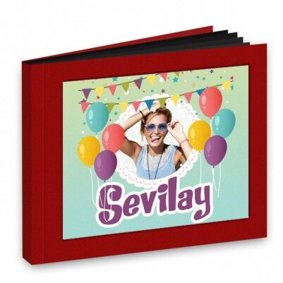 Hediyelik Doğum Günü Temalı Fotokitap - Thumbnail