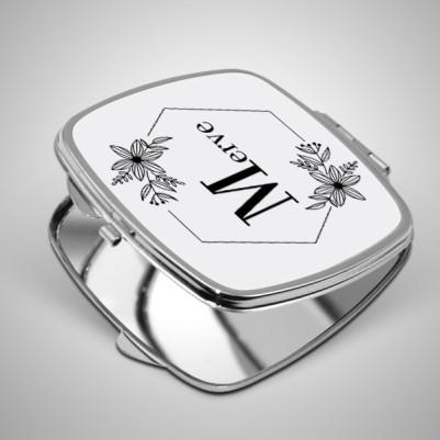 Hediyelik İsimli Makyaj Aynası - Thumbnail