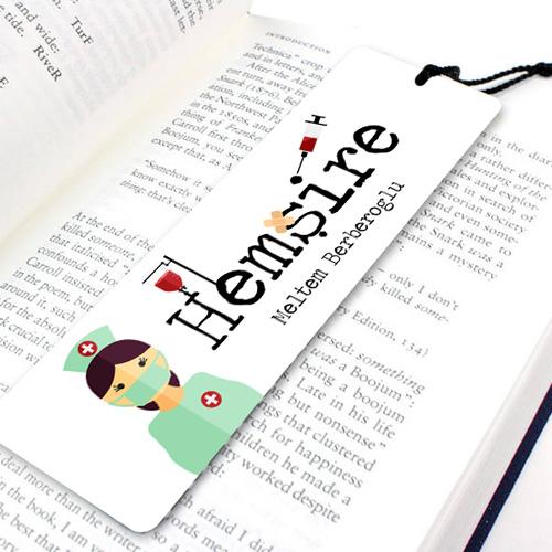 Hemşirelere Özel Kitap Okuma Ayracı