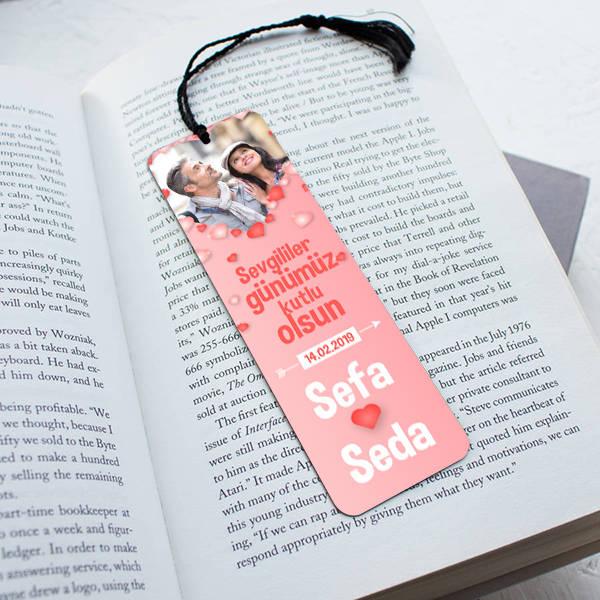 Her Sayfada Aşkımız Kitap Okuma Ayracı