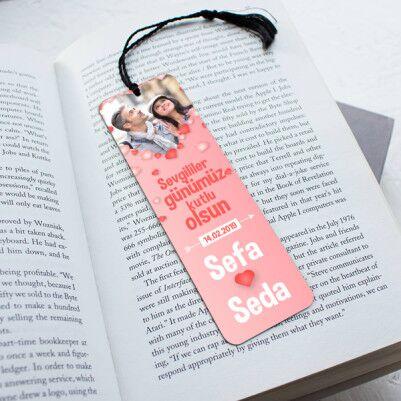 - Her Sayfada Aşkımız Kitap Okuma Ayracı