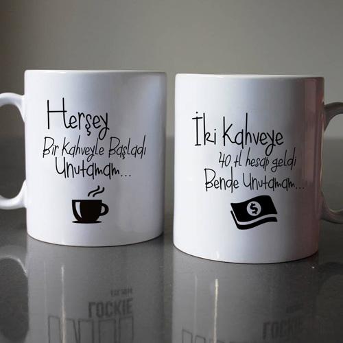 Her şey Bi Kahve ile Başladı 2'li Kupa
