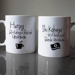 Her şey Bi Kahve ile Başladı 2'li Kupa - Thumbnail