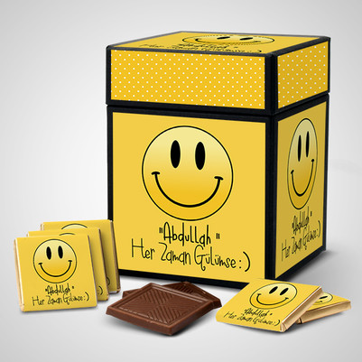 - Her Zaman Gülümse Çikolatası