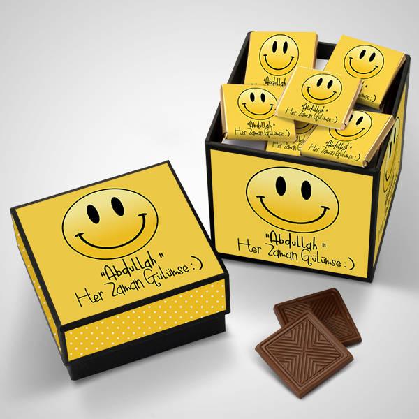Her Zaman Gülümse Çikolatası