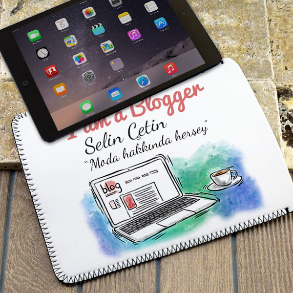 I am a Blogger Tablet Kılıfı