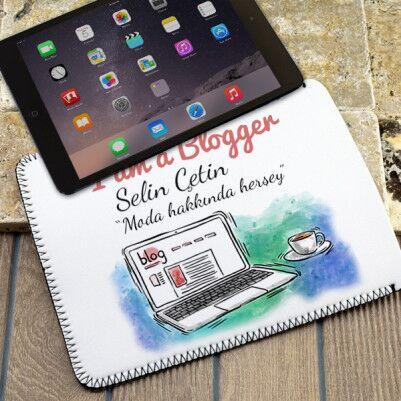 - I am a Blogger Tablet Kılıfı