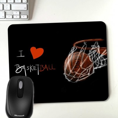 - I Love Basketball Mouasepad