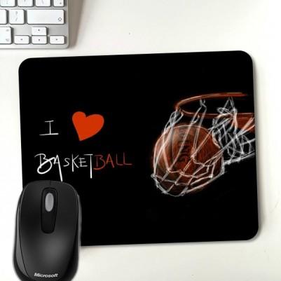 - I Love Basketball Mouasepad