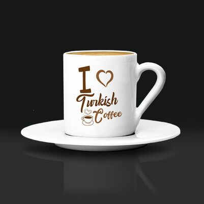 - I Love Turkish Coffee Fincanı