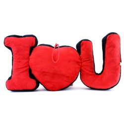 I Love You Peluş Yastık - Thumbnail