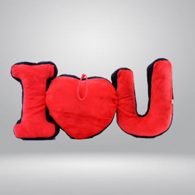 - I Love You Peluş Yastık