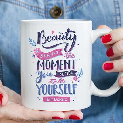 - İçindeki Güzellik İsimli Kupa Bardak