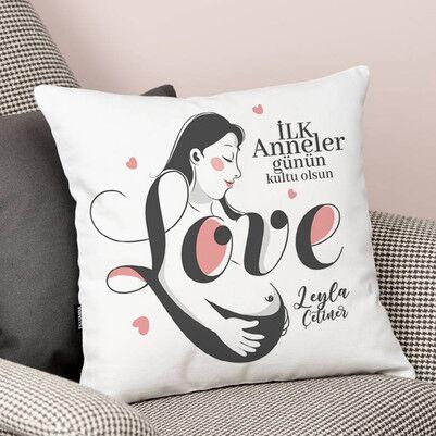 İlk Anne Sevgisi Yastık - Thumbnail