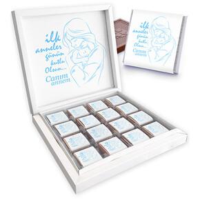 - İlk Anneler Günü Kutu Çikolatası