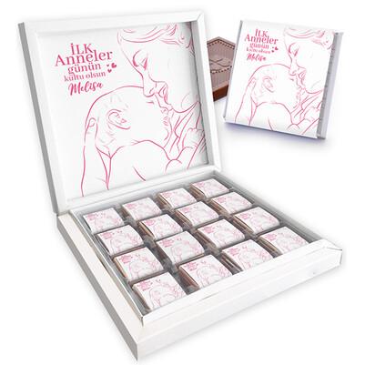 - İlk Anneler Günü Sürprizi Kutu Çikolata
