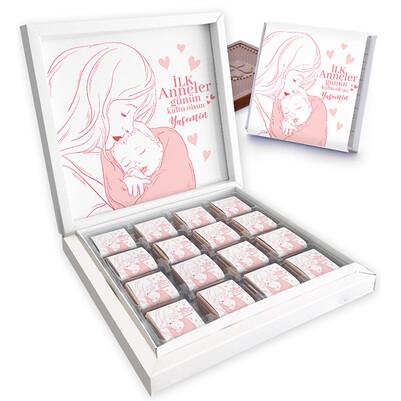 - İlk Anneler Günü Tasarımlı Lezzetli Çikolata