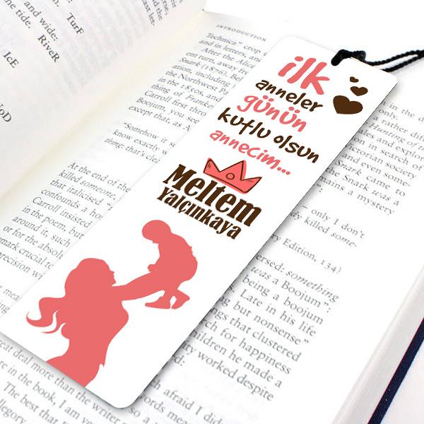 İlk Anneler Günü Temalı Kitap Okuma Ayracı