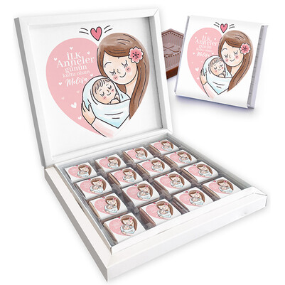- İlk Anneler Günüm Kutu Çikolata