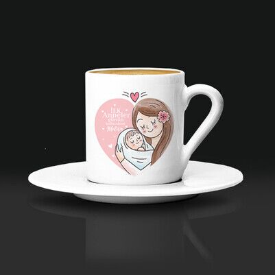 - İlk Anneler Günün Kutlu Kahve Fincanı