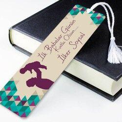 - İlk Babalar Günün Kutlu Olsun Kitap Ayracı