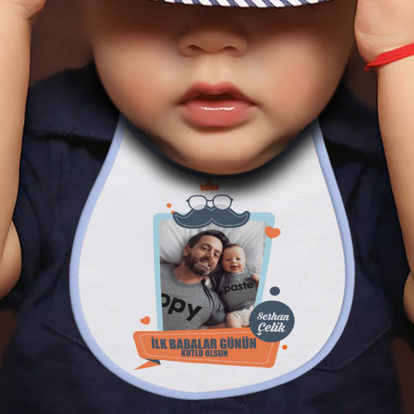 İlk Babalar Günün Kutlu Olsun Mama Önlüğü