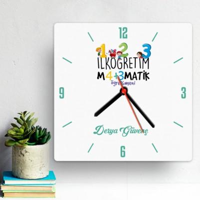 - İlk Öğretim Matematik Öğretmenine Hediye Saat