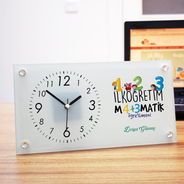 İlk Öğretim Matematik Öğretmenine Özel Masa Saati