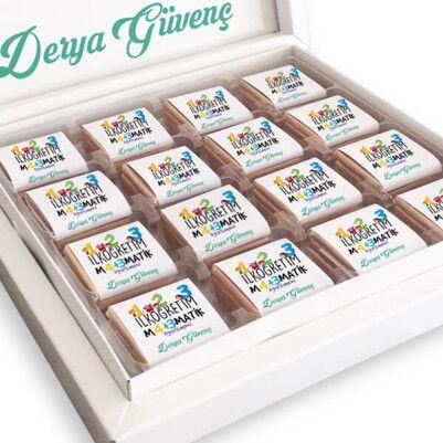 - İlköğretim Matematik Öğretmenine Özel Çikolata