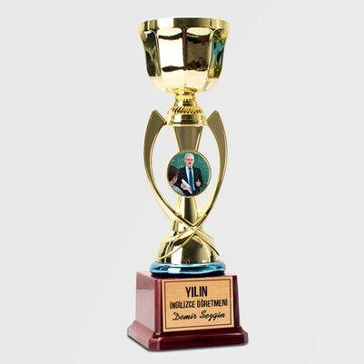 - İngilizce Öğretmenine Hediye Fotoğraflı Ödül